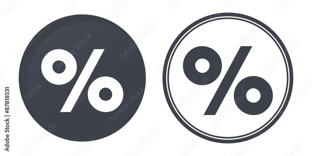 Fotografía  percent icons