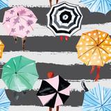 autumn watercolor pattern - 87821185