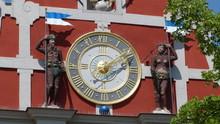 Uhr Am Rathaus In Arnstadt