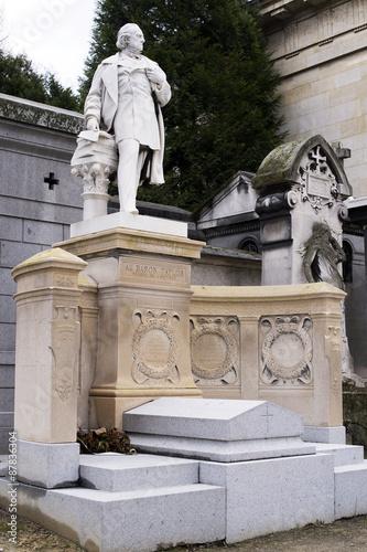 Fotografie, Tablou cimetière du père lachaise à parus