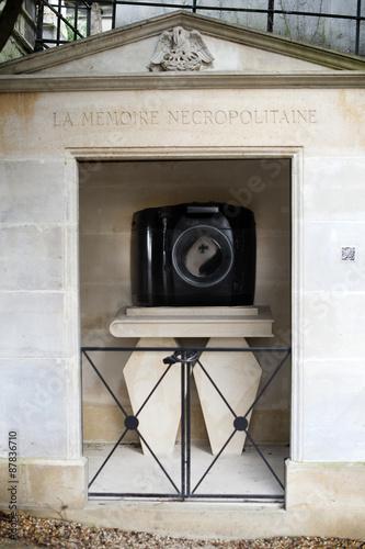 cimetière du père lachaise à parus Fototapet