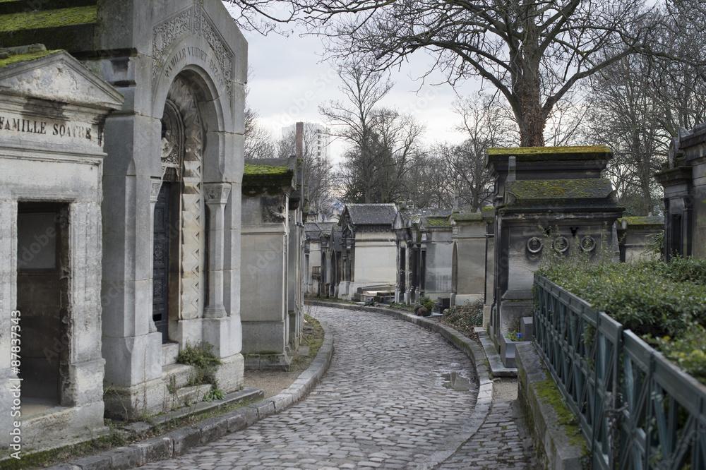 Fotografie, Tablou  cimetière du père lachaise paris