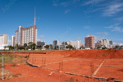 Construction Site in Brasilia City
