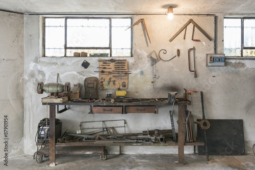 Fotografie, Obraz  workbench