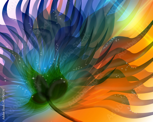magiczna-ilustracja-kwiat
