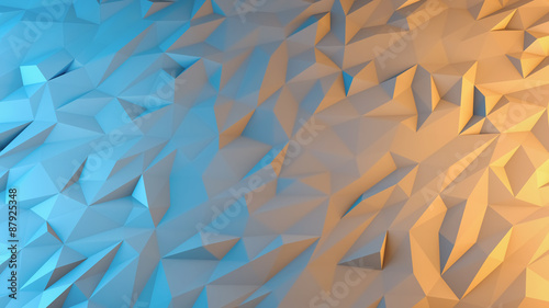 streszczenie-tlo-renderowania-3d-techno-trojkatny