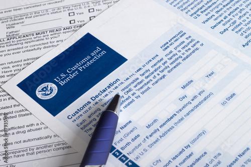 Fotografie, Obraz  USA pro cla a ochranu hranic