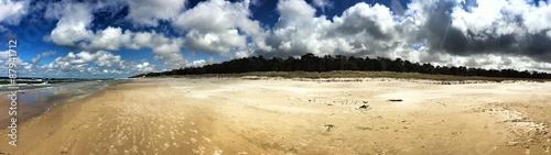 leerer strand pano #87941712