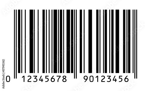 Fotografie, Obraz  Bar Code