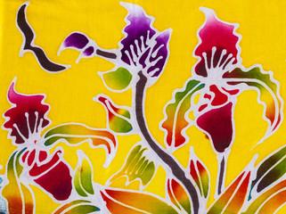 Obraz Batik style fabric