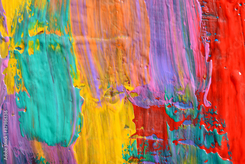 Fototapety, obrazy: Abstract art backgrounds. Hand-painted background. SELF MADE.