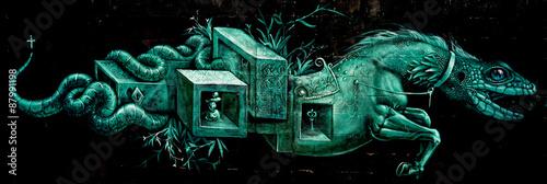 Drago - Graffiti © faber845