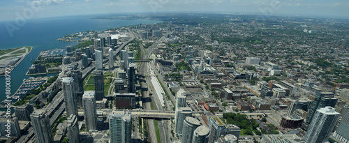 Photo  Aerial view of Toronto Canada