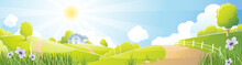 Rural Landscape / Rural  Landscape With Farm