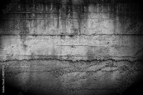 In de dag Wand Concrete wall background