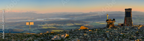 Foto auf Gartenposter Gebirge Landscape view from Babia Gora - panorama