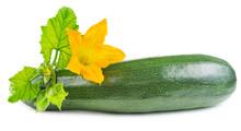 Zucchini With Flower