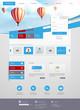 Creative Website Template Design Vector Eps 10