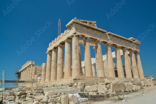 Fotobehang Athene parthenon Athens Greece, sunny day