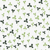 Seamless hand-drawn doodle floral pattern - 88044521