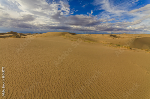 Cadres-photo bureau Desert de sable Beautiful views of the Gobi desert. Mongolia.