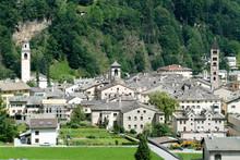 The Village Of Poschiavo