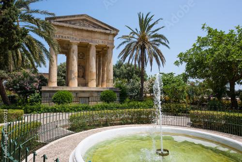 Foto op Aluminium Rudnes Lower Barrakka Gardens in Valletta
