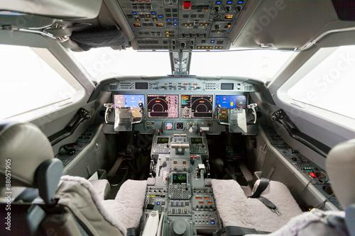 Fotografia Inside view Cockpit G550