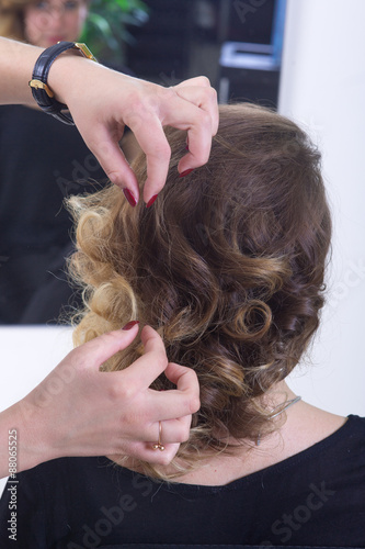 Step Of Haircut Process Buy This Stock Photo And Explore