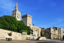 Palais Des Papes In Avignon, F...