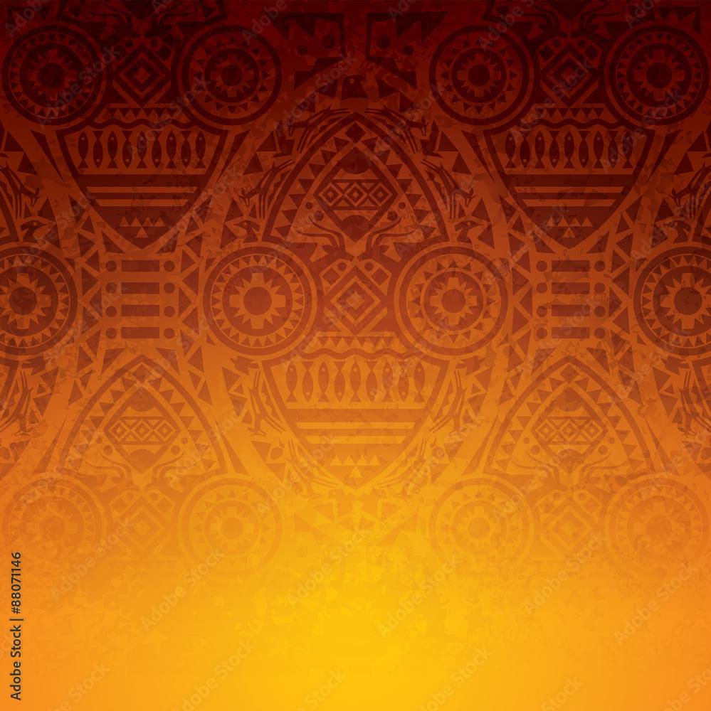 Fototapeta African art background design.