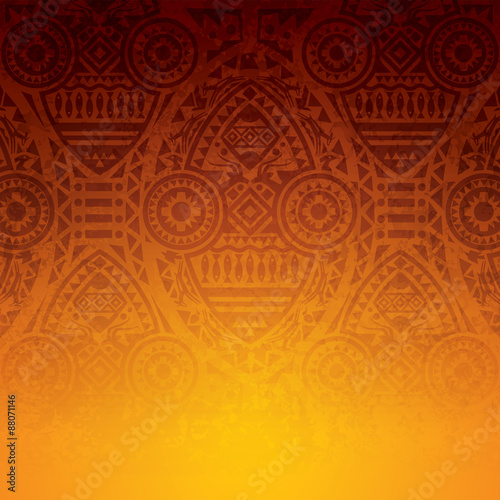 African art background design. Plakát