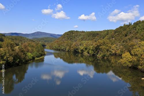 Fotografie, Obraz  James River in Virginia