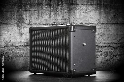 Tableau sur Toile Guitar amplifier