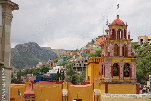 Foto op Aluminium Mexico Basilica de Guanajuato