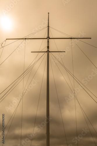 Fotografie, Obraz  Mainmast Sails