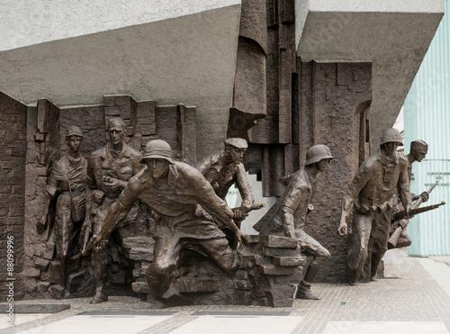 Obraz Pomnik Powstańców Polskich - fototapety do salonu