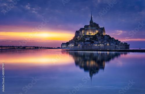 Mont Saint-Michel Canvas