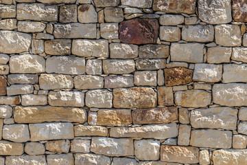 fototapeta kamienna ściana różne kolorowe kamienie