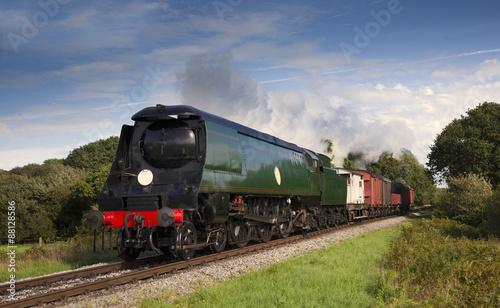 Fotografia British Steam Train