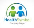 Logo santé symbole