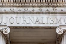 Graduate School Of Journalism Sign