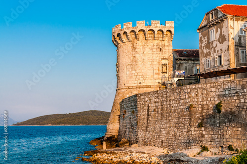 Old city, part of Korcula Canvas-taulu
