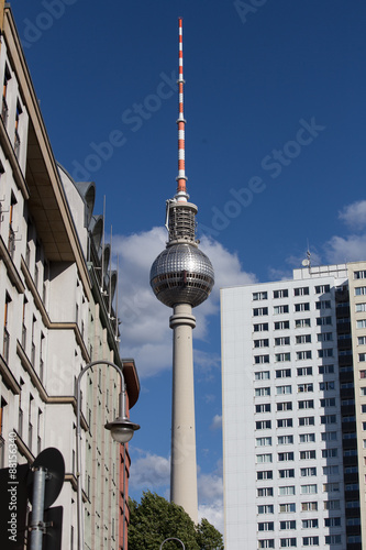 alex tv tower berlin germany Poster