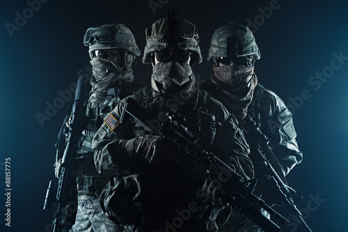 Fotomural paratroopers airborne infantry
