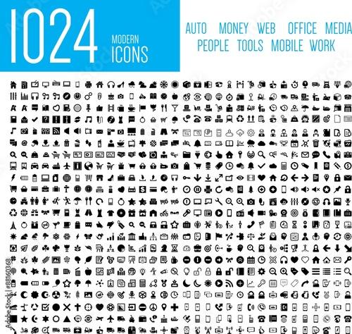 1024 Mordern Icons