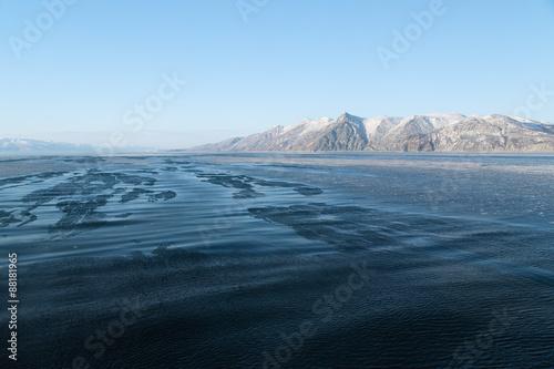 Fotografie, Obraz  Cold northern sea