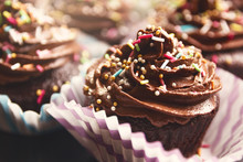 Delicious Chocolate Cupcake Wi...