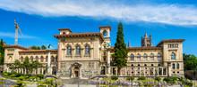 The Palais De Rumine In Lausan...