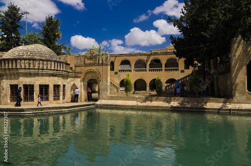 Photo  Holy Lake and Halil-ur Rahman Mosque